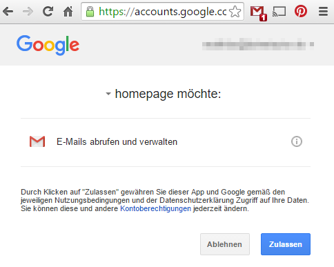 authorisieren